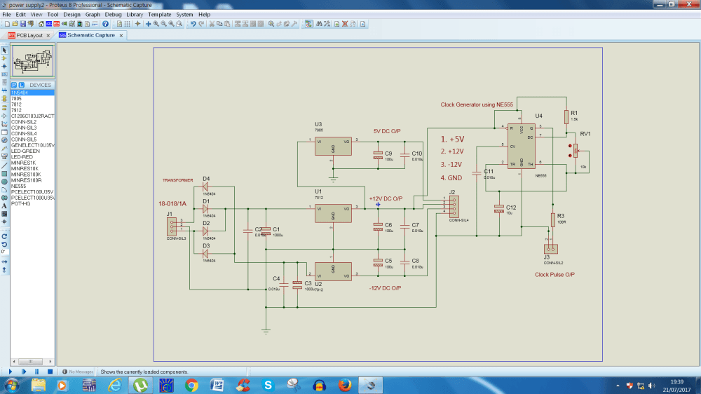 medium resolution of  with my regulated power output like 12v 12v 5v with 10 hz to 5khz clock pulse generator with help of ne555 ic circuit power supply circuit diagram