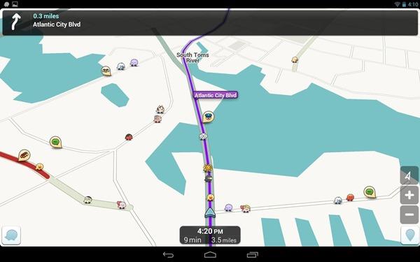 MapQuest trafico en tiempo real
