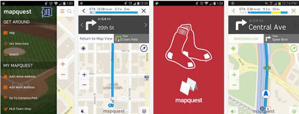 Navegación Gps con MapQuest