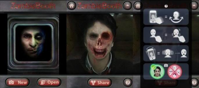 ZombieBooth conviertete en zombie