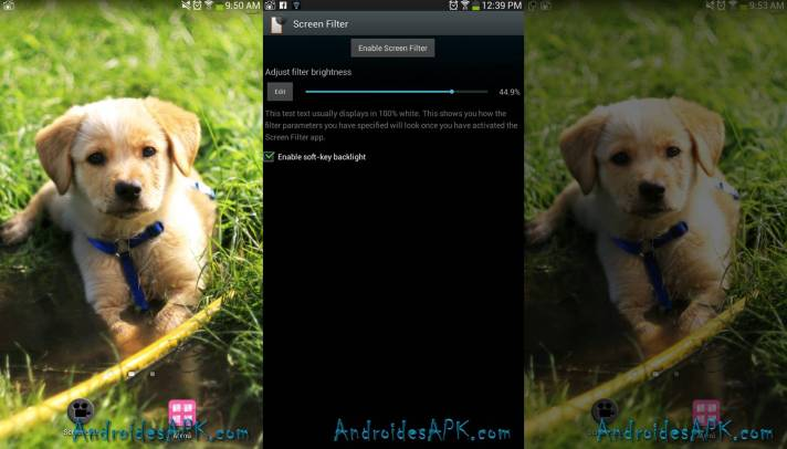 Screen Filter para Android