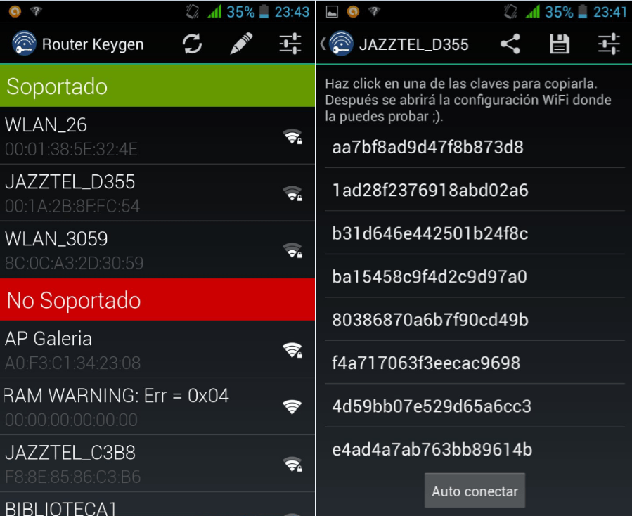 router keygen para android mexico