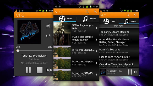 capturas de vlc for android