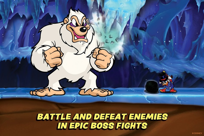 DuckTales Remastered batalla epica