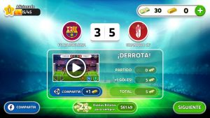 Resultados de la revancha en Head Soccer La Liga