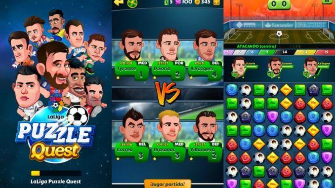 LaLiga Puzzle Quest - juego Puzzle de Futbol