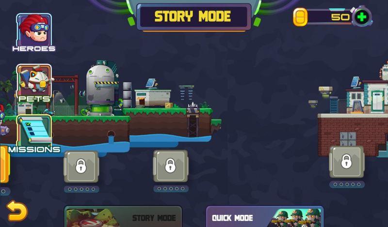 JuMetal Shooter Run and Gun - juego de disparos para android