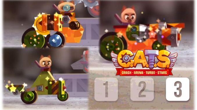 Crash Arena Turbo Stars 3 espacios en el geraje