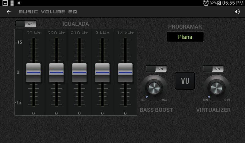 Ecualizador de volumen