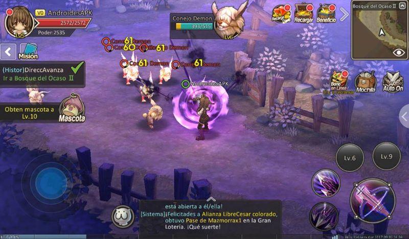 misiones en colaborativos para vencer a enemigos.