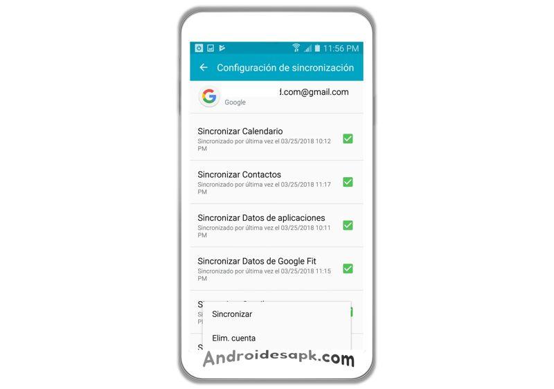 pasos para eliminar cuenta google