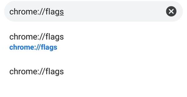 chrome://flags