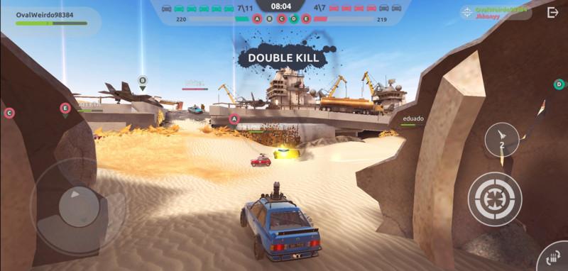 steel rage: Dinámica similiar a World of Tanks