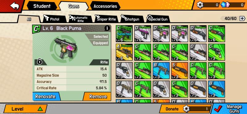 Armas obtenidas en batallas