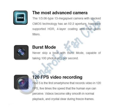 Oppo Find 5 - Android Smartphone Specs