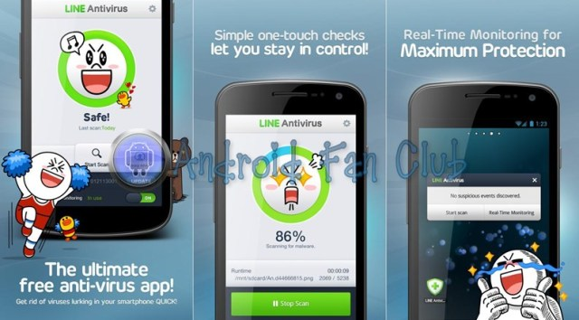 LINE Antivirus for Android smartphones & tablets