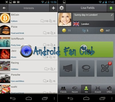 Voxle - local social network for Android smartphones & tablets