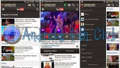 TubeMate Android YouTube Video Downloader