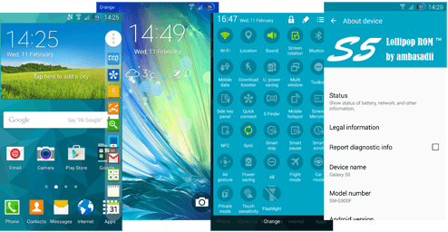 ABASADII LOLLIPOP 5.0 ROM FOR GALAXY S5