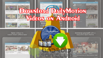 Android app to dailymotion.