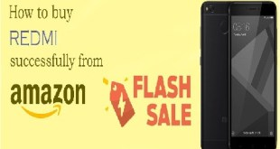 how to buy in flash sale how to book redmi phone