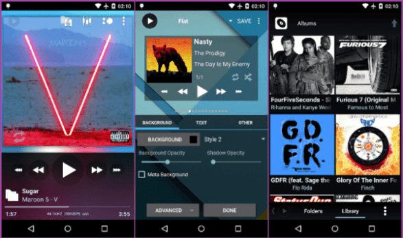 Poweramp Music player Full Free Download Version