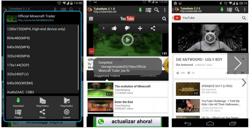 TubeMate v3 3.2.7 (1118) Apk - YouTube Downloader 2