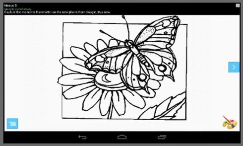 Butterfly Coloring Pages Android App APK by Adiovith Media