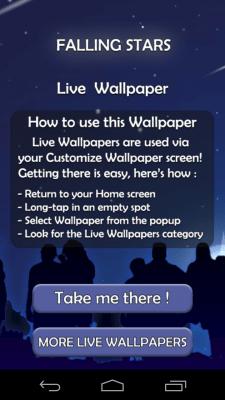 Falling Money 3d Wallpaper Apk Falling Stars 3d Live Wallpaper Android App Free Apk By