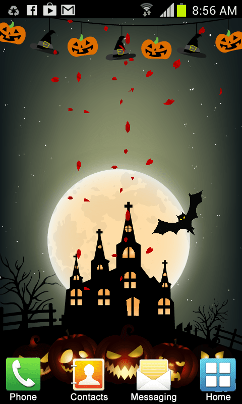 Falling Money Live Wallpaper Apk Halloween Live Wallpaper New Android App Free Apk By