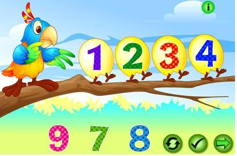 kids count numbers game