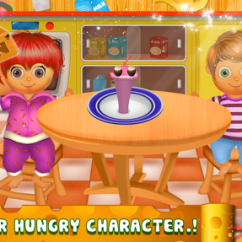 Kitchen Cooking Games Vacuum Kids Game Android Download Screenshot 2