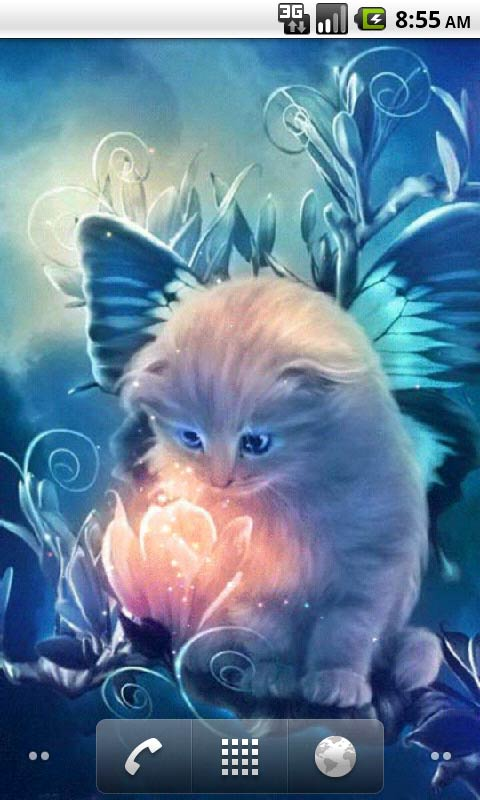 3d Cube Live Wallpaper App Download Kitty And Magic Live Wallpapers Android App Free Apk By