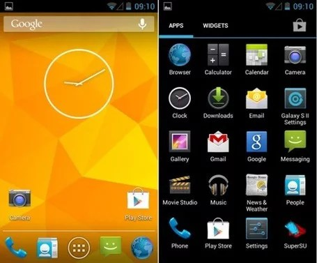 Download, Install CyanogenMod 10 1 App Launcher, Trebuchet