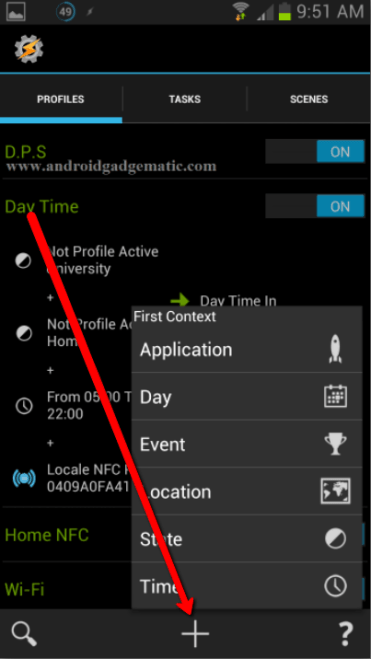 How To Run Tasker And Locale Profiles, Tasks With NFC Tag