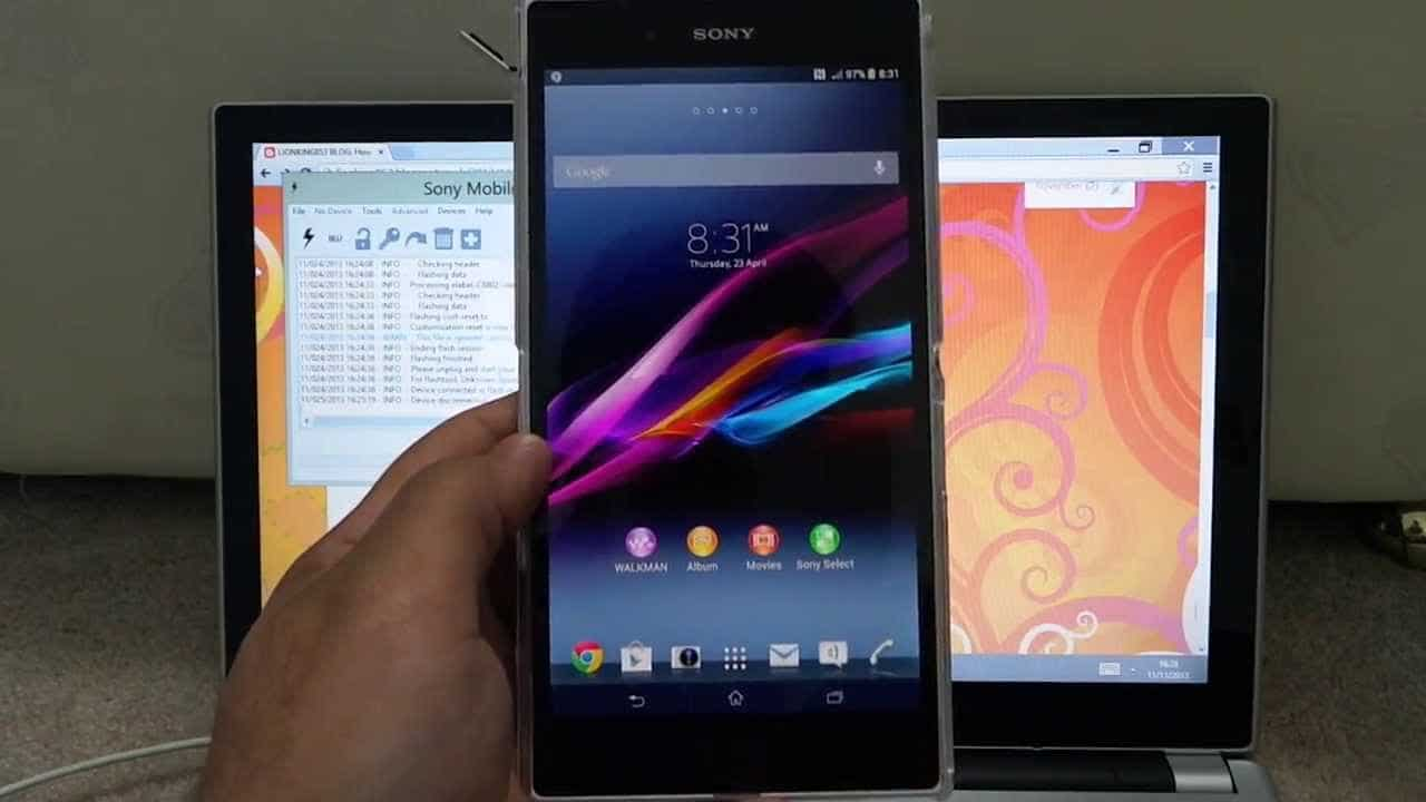 Sony Xperia Z Downgrade Lollipop Back To KitKat 4.4.4