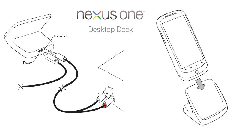 Nexus One Dock Now Available for $45