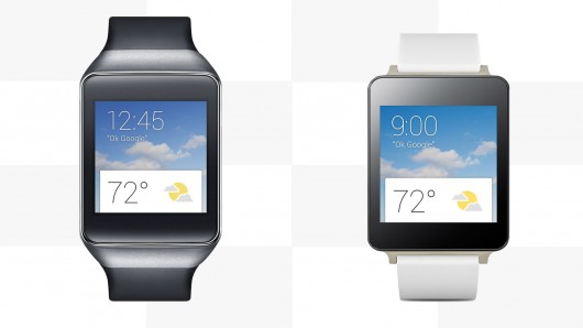 lg g watch, samsung gear live