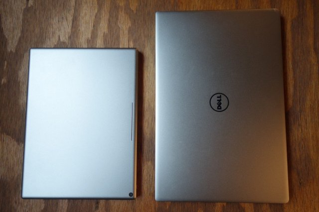 His brother from another mother, the Dell XPS 13