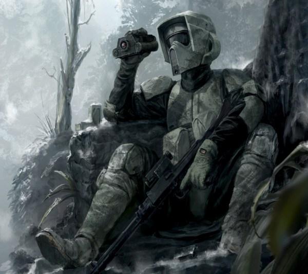 Star Wars Scout Trooper Sniper