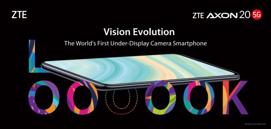 ZTE Axon 20 5G arrives with camera tucked under display