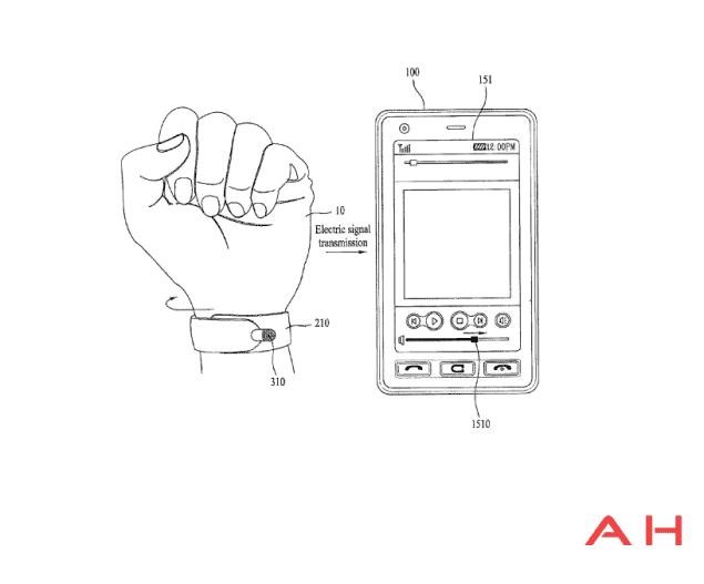 LG Applies For Weird Patent For A Wrap Around, Wrist-Worn