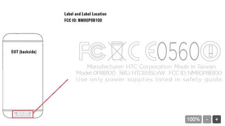 HTC One mini 2 For Verizon Passes Through FCC