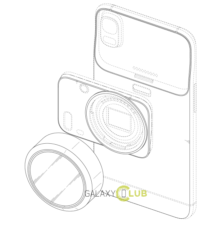 Design Patents For New Samsung Phone Cameras Surface