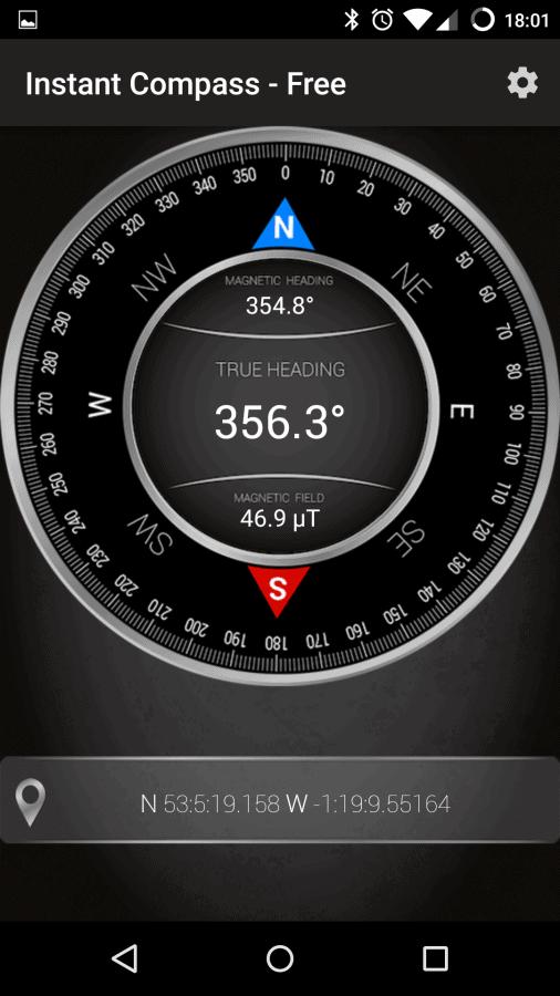 Sponsored App Review: Compass - Free