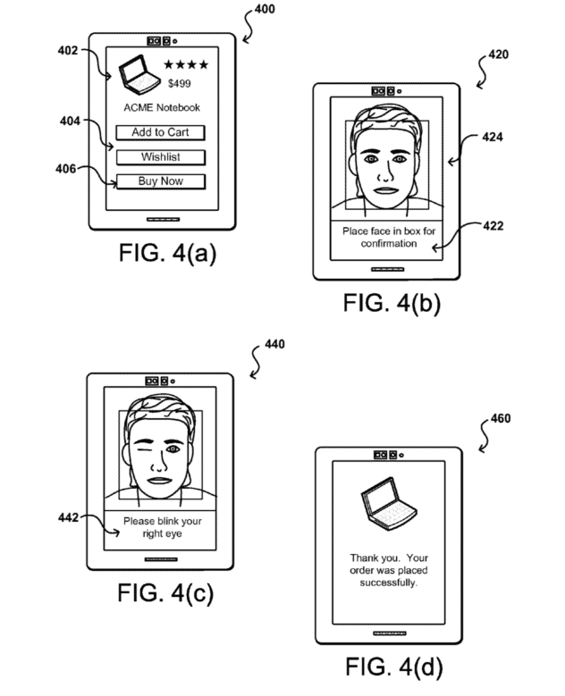 Patent Filing Shows Amazon wants you to Pay by Winking