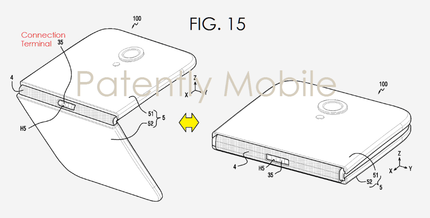Samsung Files Yet Another Foldable Smartphone Patent