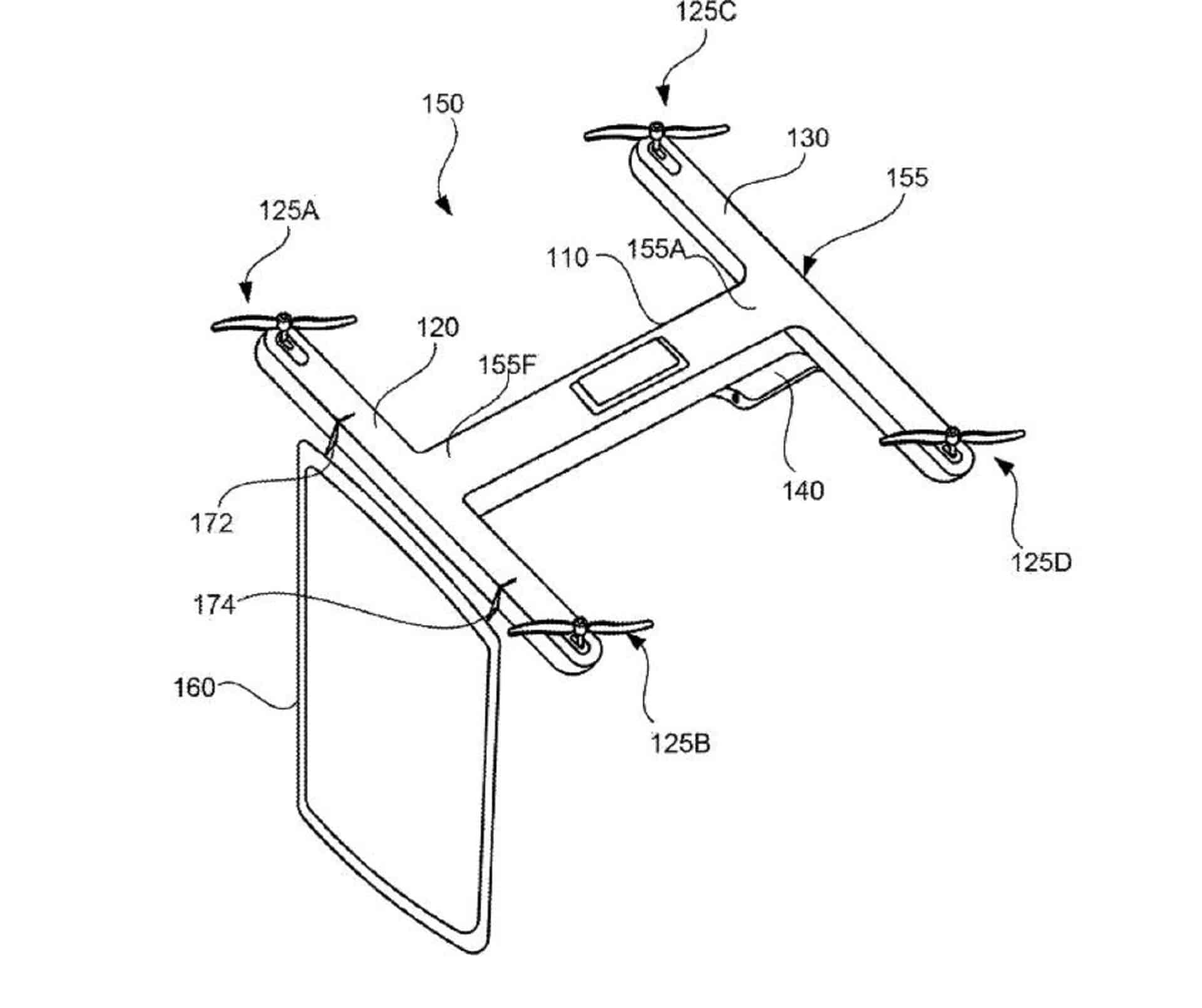 Quadcopter-Based Video Conferences Are Now A Google Patent