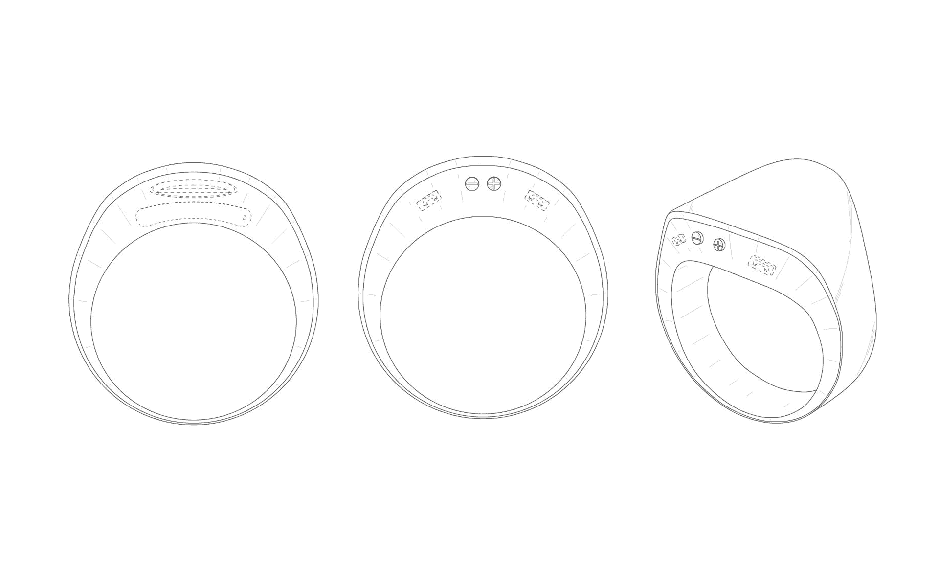 Patent Image Shows Samsung's Alleged Smart Ring