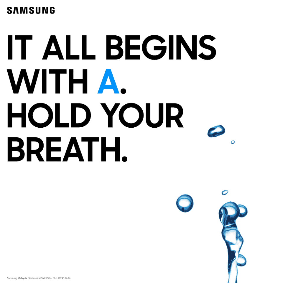 Samsung Teases Water Resistance For The Galaxy A Series